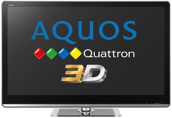 Sharp 3d TVs